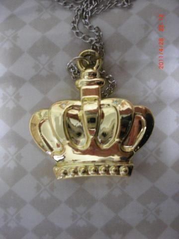 全新皇冠项鍊装饰品
